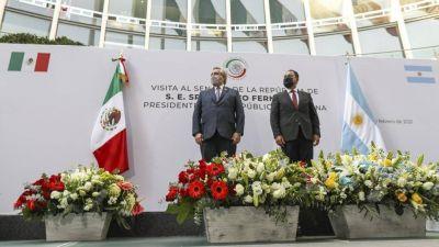 Alberto Fernández participa de los actos del bicentenario de la independencia de México