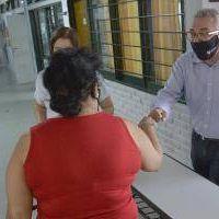 Tigre: Zamora supervisó obras en escuelas para garantizar el inicio de clases