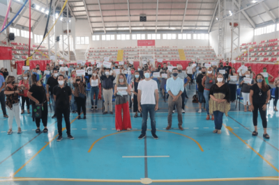 Lucas Ghi entregó subsidios para los espacios culturales afectados por la pandemia