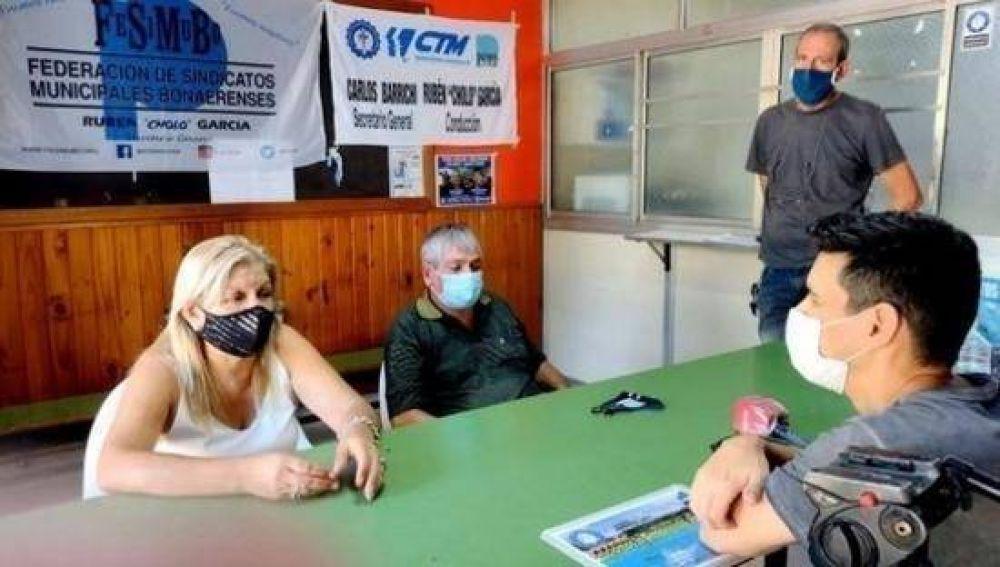 El Sindicato de Trabajadores Municipales denunció
