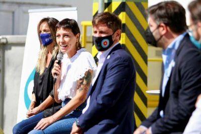 Kicillof, Mendoza y Galmarini inauguraron obras cloacales y de agua potable en barrio Itatí de Quilmes