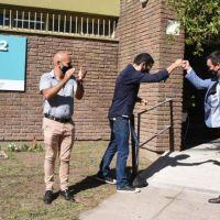 Watson inauguró el Centro Educativo Integral Municipal Nº2 en el barrio La Pileta