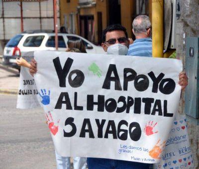 Hospital Sayago: se lanzó una campaña de firmas para respaldar la lucha del personal de salud municipal