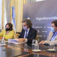 Carreras y Cafiero firmaron acuerdo para ampliar la conectividad por fibra óptica en Río Negro