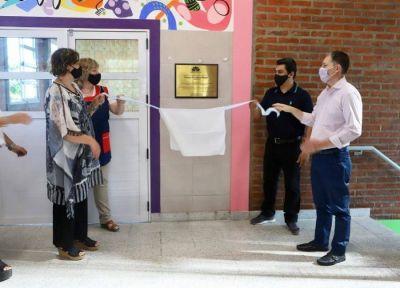 Esteban Echeverría: Fernando Gray recorrió las nuevas instalaciones del colegio Maitén