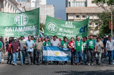 Trabajadores estatales de Catamarca pararon por 48 horas en reclamo de un aumento salarial
