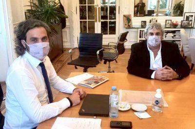 Romero se reunió con Cafiero en Casa Rosada