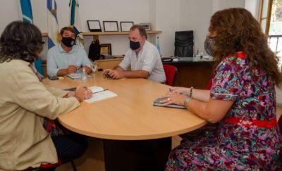 Biss y Arzani avanzaron en «una agenda común» para priorizar y resolver temas ambientales