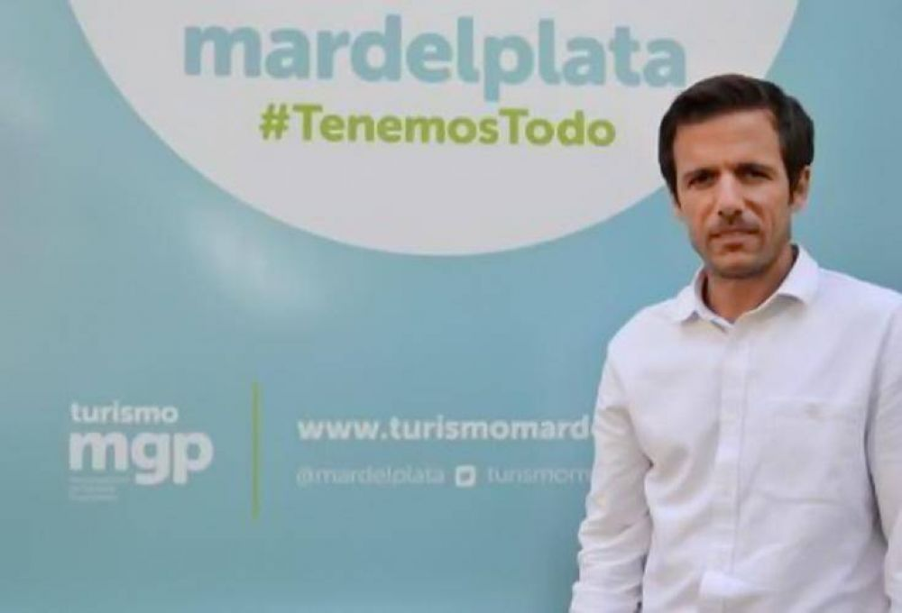 Scremin feliz con los más de 2 millones 100 mil personas ya visitaron Mar del Plata