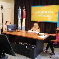 Realizaron actos públicos virtuales para cobertura de cargos docentes