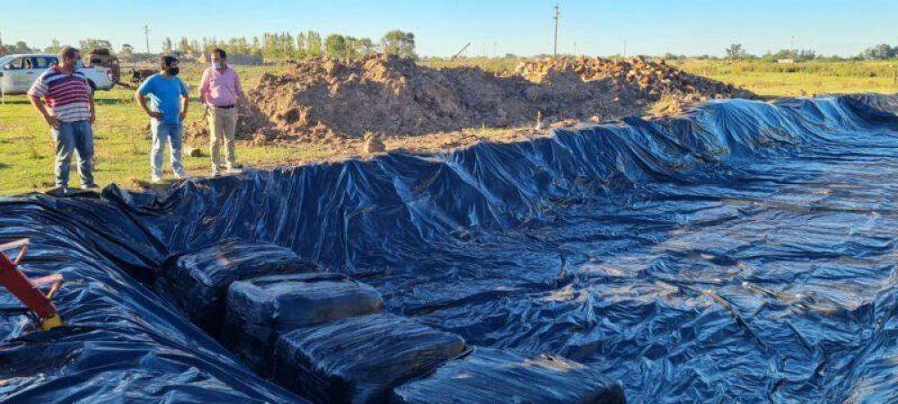 Rivadavia avanza hacia un novedoso sistema de disposición final de residuos