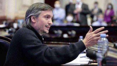 Máximo Kirchner avanzó un paso más en su objetivo de convertirse en el presidente del PJ bonaerense