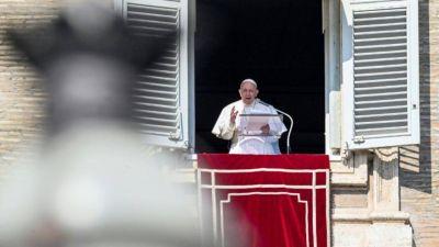 Francisco imagina que morirá en Roma siendo papa y no volverá a Argentina