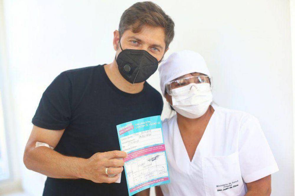 Kicillof defendió la vacunación de voluntarios