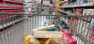 Las ventas en los supermercados cayeron 12% en el primer bimestre