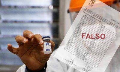 Difunden falso listado de vacunados VIP y la Comuna va a la Justicia