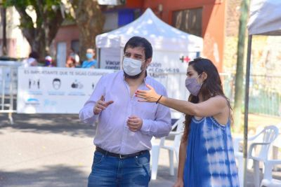 """Moreira: """"Lo que pasó con la vacuna fue un error serio, el Presidente intervino rápido y con lógica"""""""