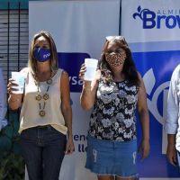 Cascallares y Malena Galmarini inauguraron red de agua potable que beneficia a más de 9 mil vecinos
