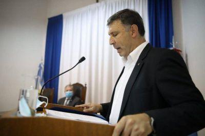 Rosso inauguró el período de sesiones legislativas