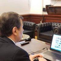 El gobernador Zamora asistió al acto encabezado por el presidente Fernández, en el Congreso de la Nación