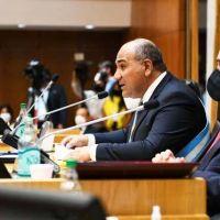 """Manzur abrió las sesiones legislativas: """"privilegiamos la salud y la vida"""""""