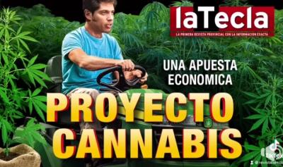Kicillof sueña con el bronce a través del Proyecto Cannabis