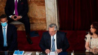 Apertura de sesiones ordinarias 2021: el kirchnerismo hizo foco en el anuncio de la deuda y le pegó a la oposición