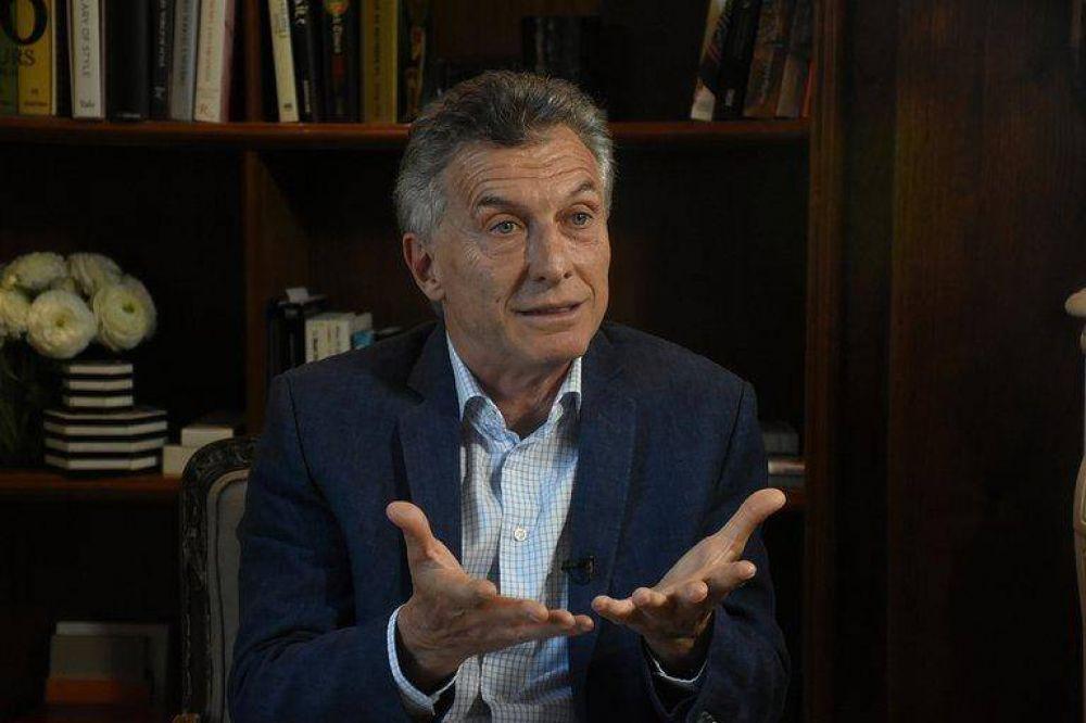 Para Mauricio Macri, la denuncia judicial por el acuerdo con el FMI no tiene fundamentos jurídicos