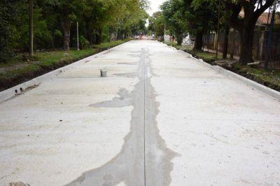 Nueva obra de pavimentación: calles Artigas y Gral. Savio