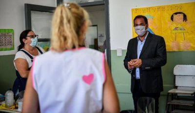 """El Intendente afirmó que """"el 95% de las escuelas"""" retomó las clases presenciales"""