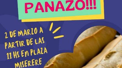 """""""Panazo"""": hoy entregarán 1.000 kilos de pan para reclamar regulación del precio de harina"""