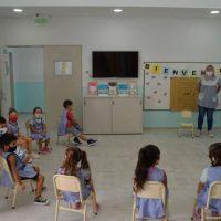 Los jardines de infantes municipales abrieron sus puertas