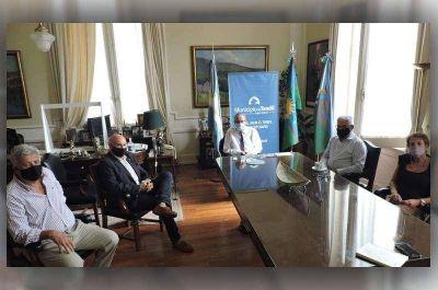 Municipio y Universidad avanzaron en la planificación de los lineamientos del Acuerdo del Bicentenario para esta año