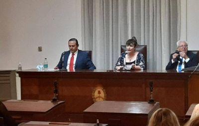 Dolores: Con un discurso escueto, Etchevarren abrió el período de sesiones ordinarias del Concejo Deliberante