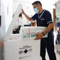 San Luis recibió 5.400 dosis de la vacuna Sinopharm