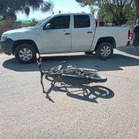 Concejal chileciteño protagonizó un accidente en Villa Unión