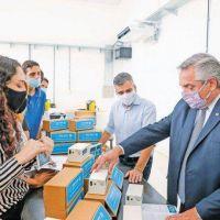 Vacunas, Ganancias y Macri; ejes de la campaña de Alberto
