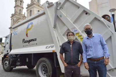 Patagones incorporó un camión recolector de basura