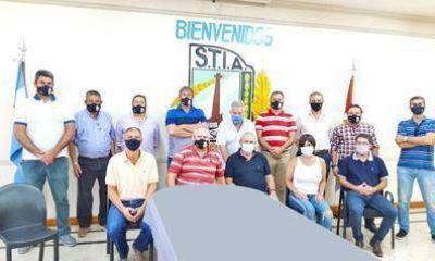 El Secretario General de la FTIA mantuvo intensa agenda de trabajo en Rafaela y Santa Fe
