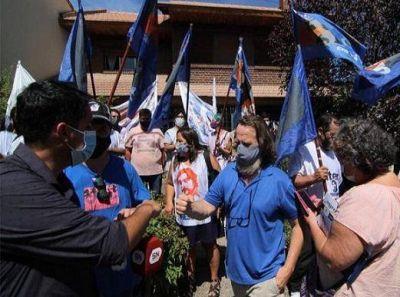 El plenario de ATEN ratificó el paro por cinco días, con marcha y banderazos