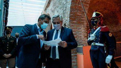 Alberto Fernández pidió a Massa que defina las atribuciones de la Comisión Bicameral que controlará al Poder Judicial