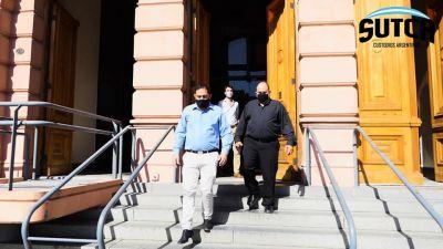 Los Custodios en la Casa Rosada