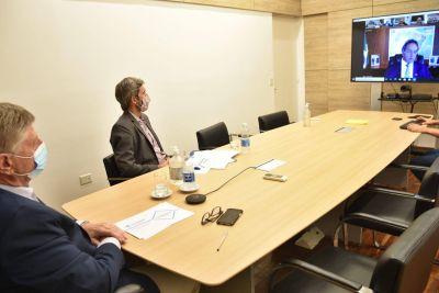 Ziliotto se reunió con Scioli para para aumentar las exportaciones pampeanas a Brasil