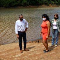 Eldorado: el Ministro de Ecología realizó recorridas con la Secretaria de Ambiente de Eldorado y se reunió con el Intendente