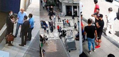 """La UATRE denunció que el diputado Ansaloni """"buscó tomar por la fuerza"""" a Osprera luego de ser denunciado por estafa"""