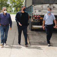 Jorge Macri y Franco Bagnato visitaron Lezama y Chascomus