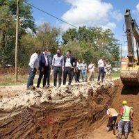 Katopodis recorrió General Guido, Maipú y Ayacucho para poner en marcha obras