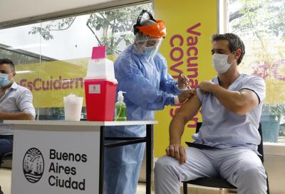 La Ciudad inauguró web e informó que el 4% de los porteños están vacunados