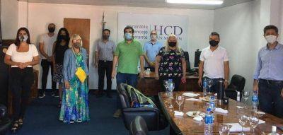 Moreira se reunió con los concejales peronistas y adelantó los ejes de su discurso del viernes