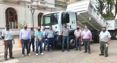 El Municipio presentó dos nuevos camiones